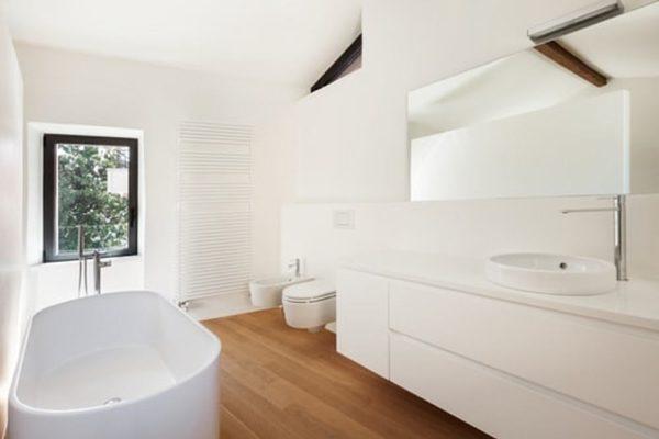 landelijke badkamer