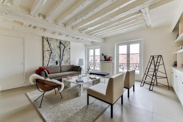 Inrichten van een klein appartement of studio