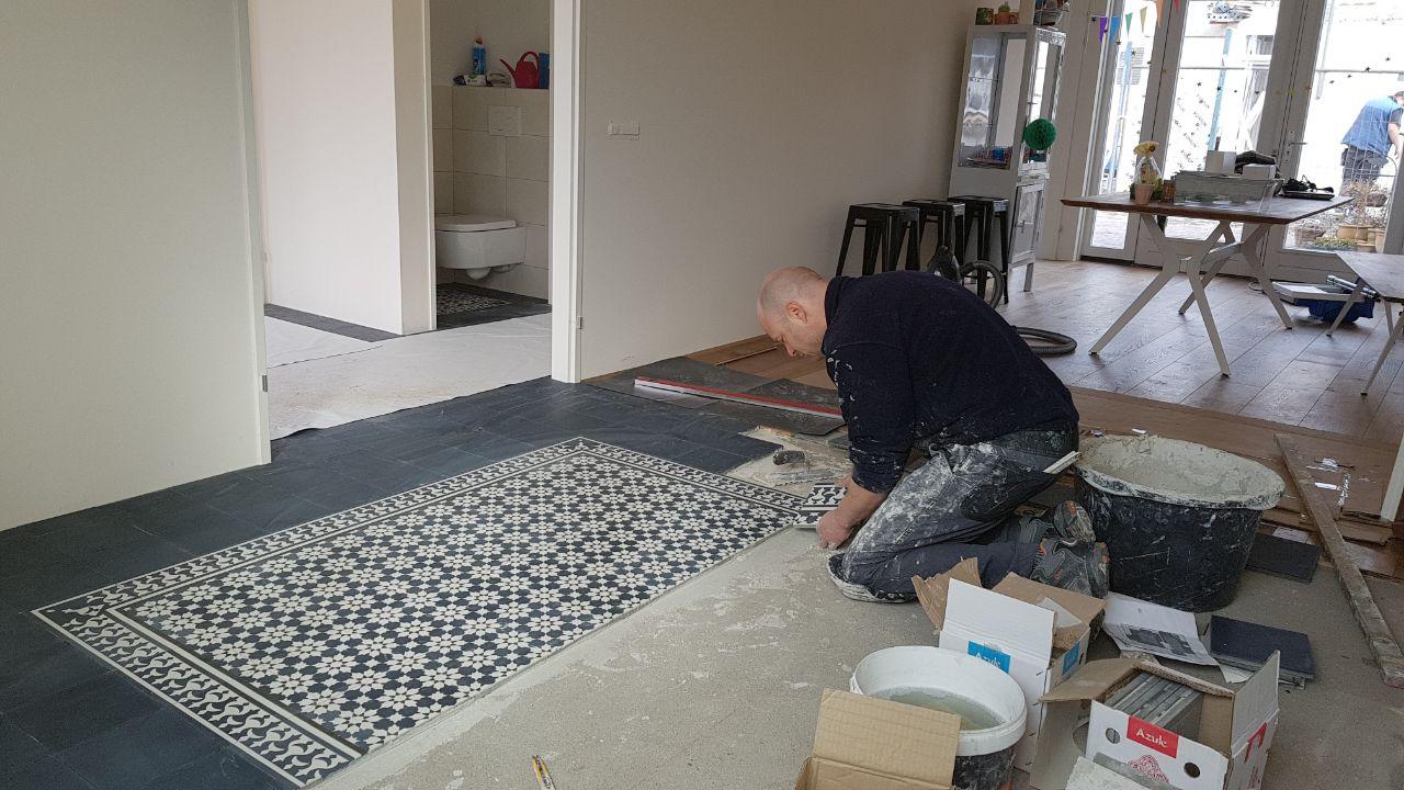 Tegels Impregneren Badkamer : Onderhouden en plaatsen van cementtegels iets voor jou of niet