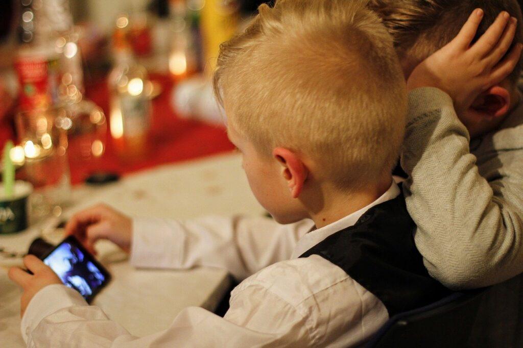 Smartphone gebruik van kinderen